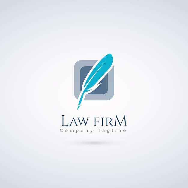 Law firm logo Vector | Premium Download