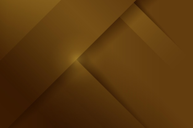 Layers of gold luxury shapes background Free Vector