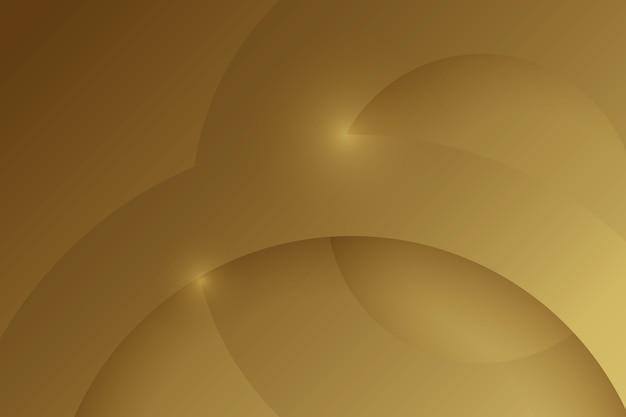 Слои круглого золота роскошных фигур фон Premium векторы