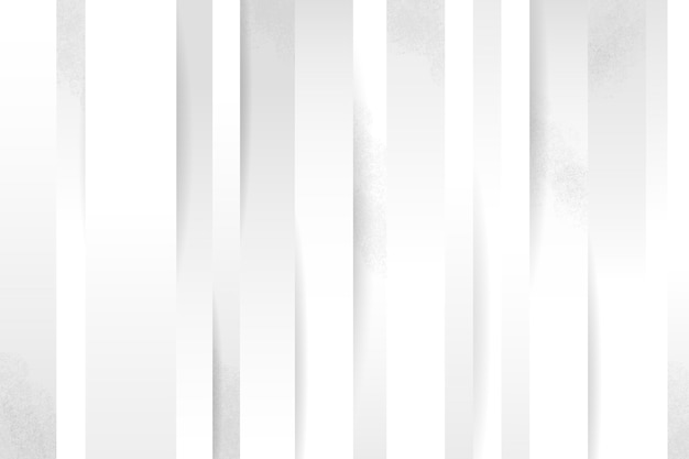 Layers of vertical lines white texture background Free Vector