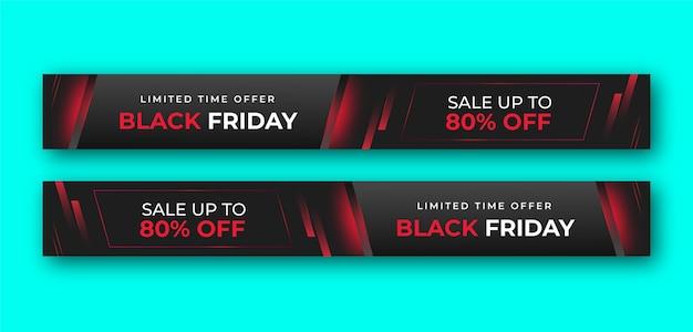 Leaderboard ad banner or header Premium Vector