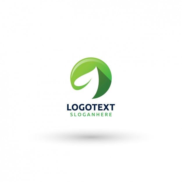 leaf logo template vector free download