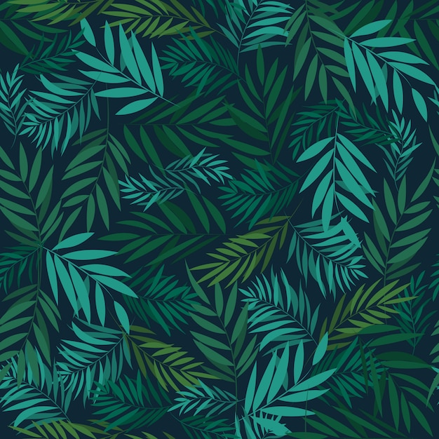 Leaf seamless pattern Premium Vector