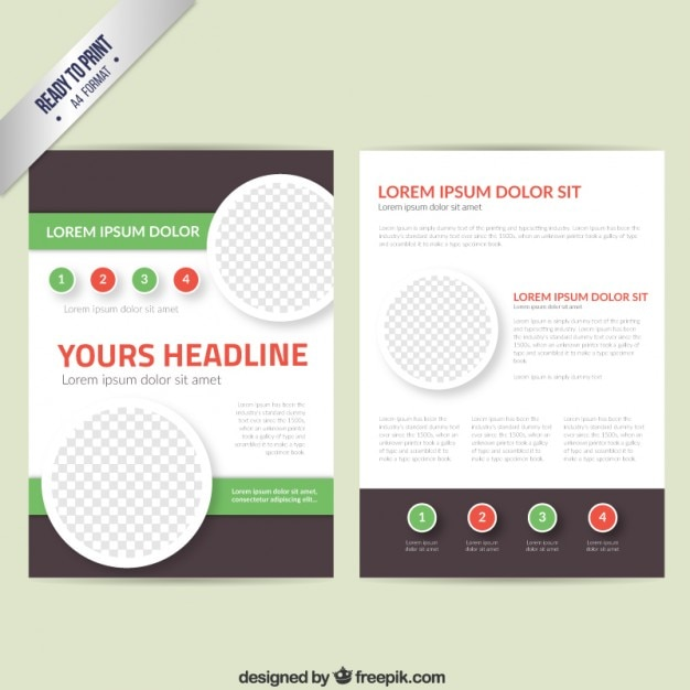 leaflets templates free download koni polycode co