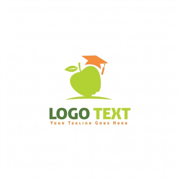 Learning center logotype Free Vector