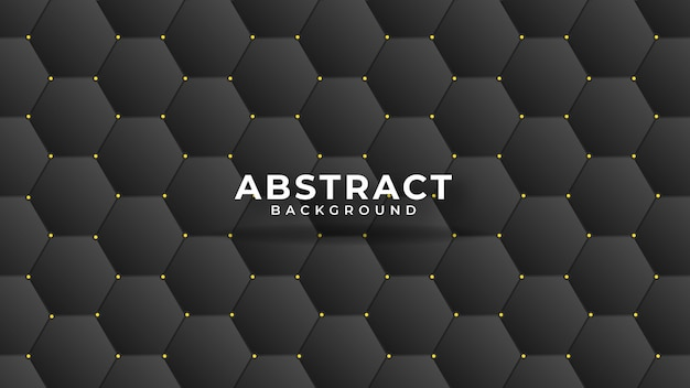 Leather texture abstract polygonal pattern luxury dark blue with gold Premium Vector