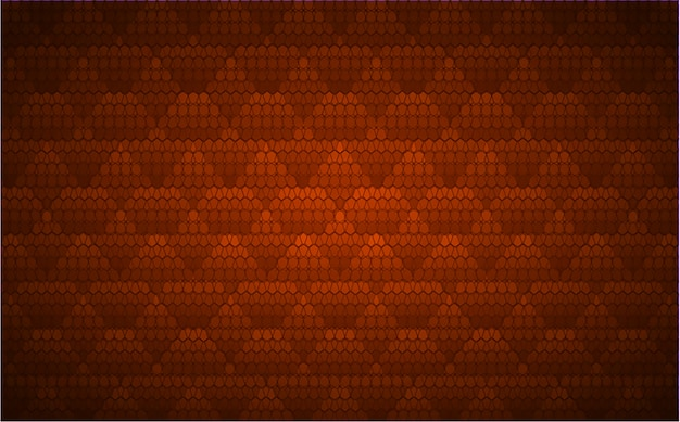 映画のプレゼンテーション用のオレンジ色のledシネマスクリーン。光の抽象的な技術の背景 Premiumベクター