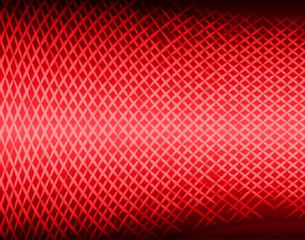 映画のプレゼンテーション用の赤いled映画スクリーン。 Premiumベクター
