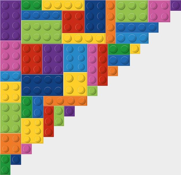 Lego icon. Premium Vector