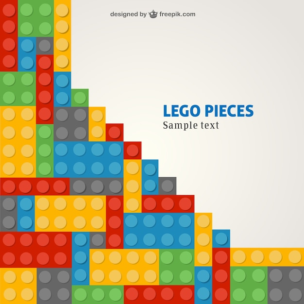 Lego template Vector | Free Download