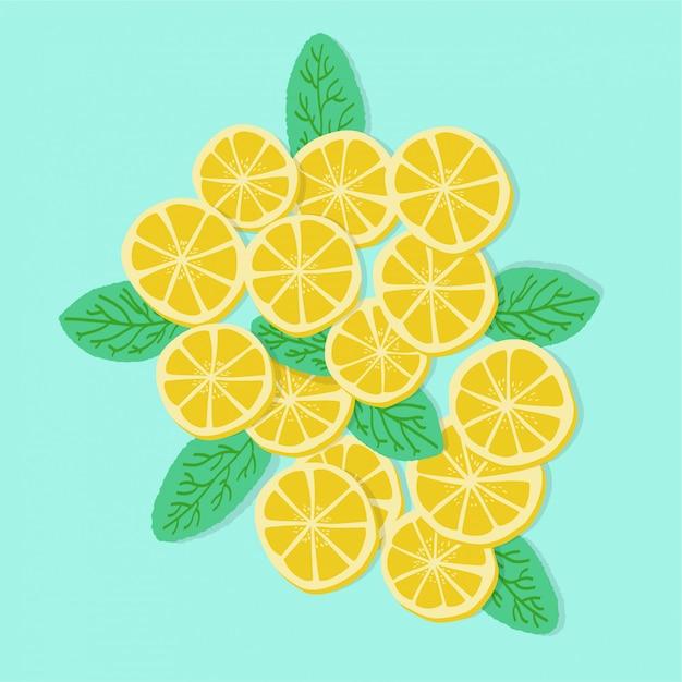 Lemons Premium Vector