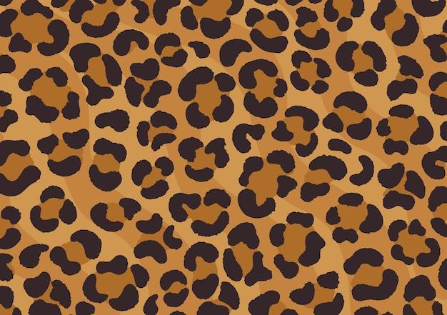 Leopard print design. cheetah skin. animal print. Premium Vector