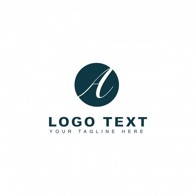 Letter a photography logo template