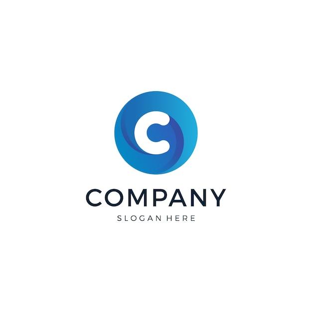 Letter c logo Premium Vector