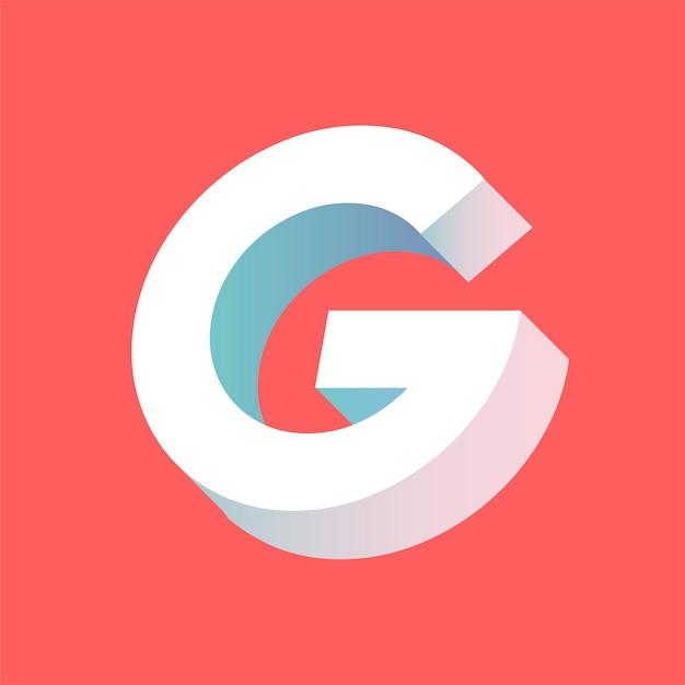 La lettera g vettoriale Vettore gratuito