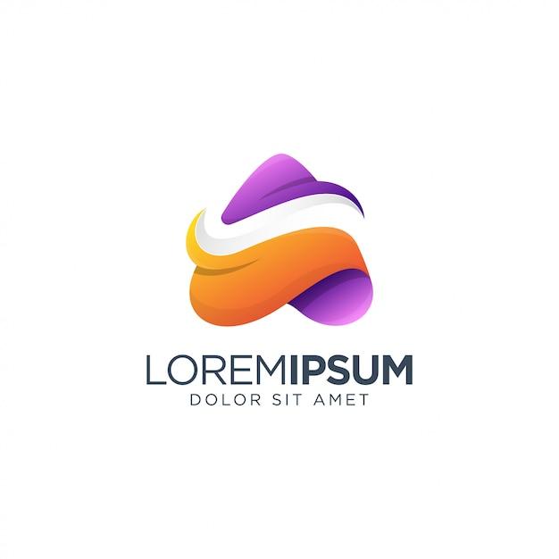 Letter logo design Premium Vector