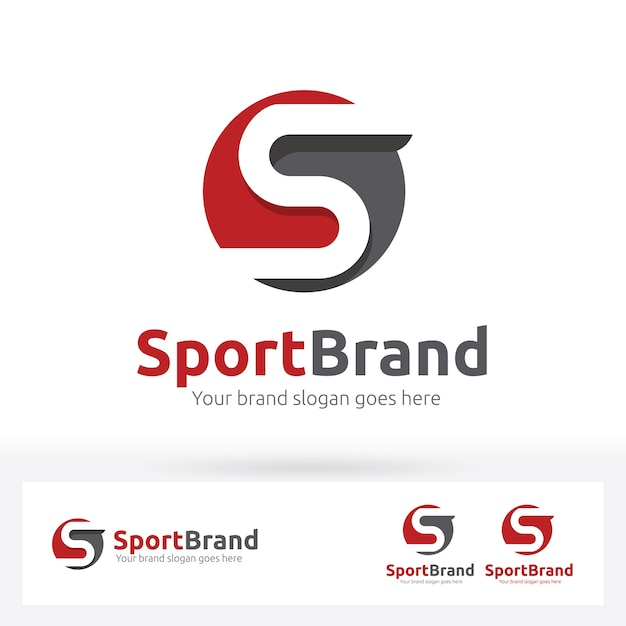 Letter s logo letter s in the circle shape with flat shadow vector letter s logo letter s in the circle shape with flat shadow premium vector altavistaventures Image collections