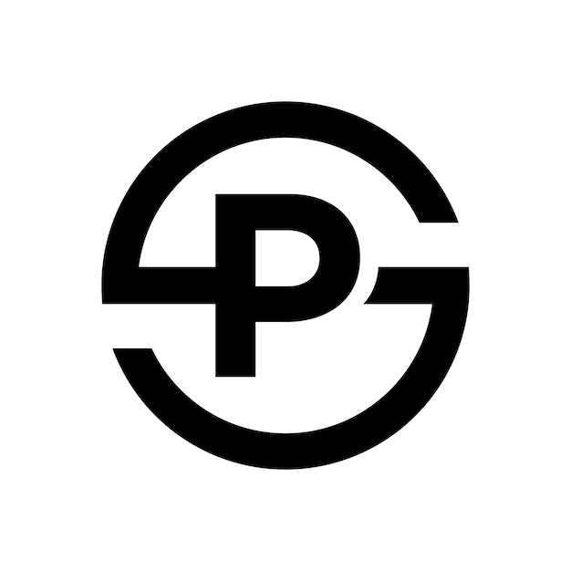Letter S Symbol Combination With Letter P Vector Premium Download
