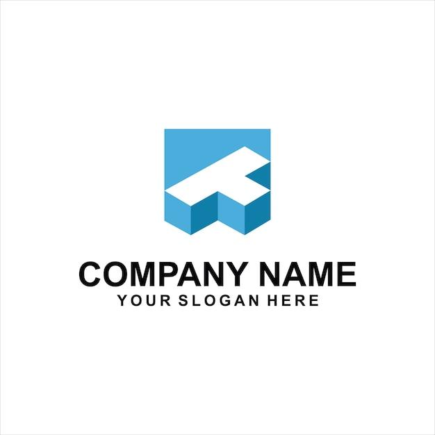 2282b6621 Letter t logo design Vector   Premium Download