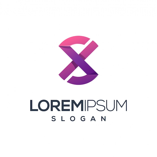 Letter x logo design,vector,illustration ready to use for your company Premium Vector