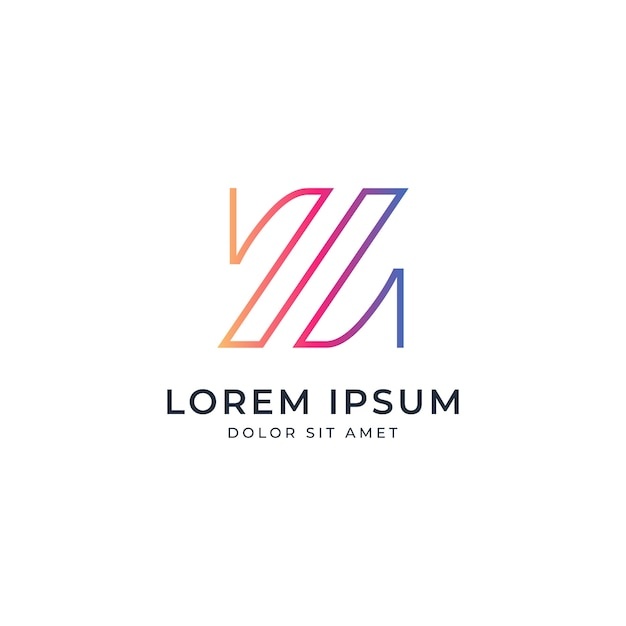 Letter Z Logo Template Premium Vector