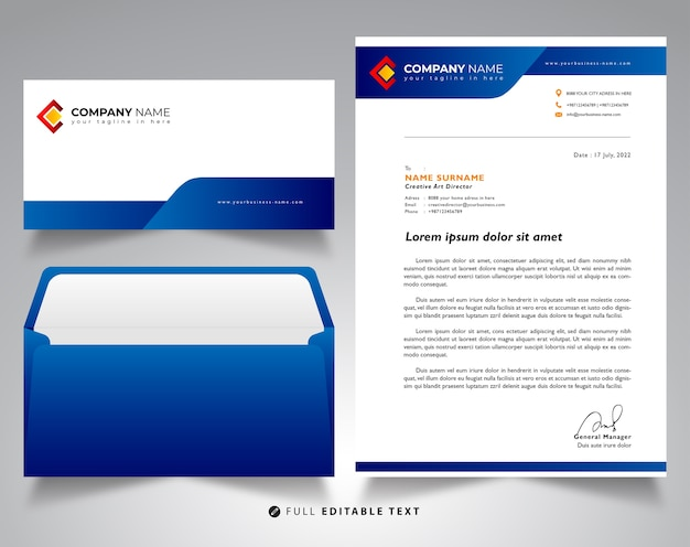 Letterhead envelope business mockup template vector premium download letterhead envelope business mockup template premium vector spiritdancerdesigns Images