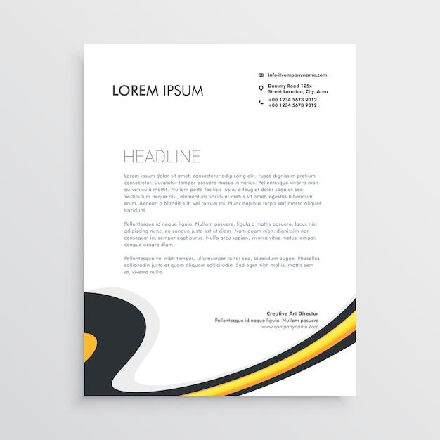 Formal Letterhead Template from image.freepik.com