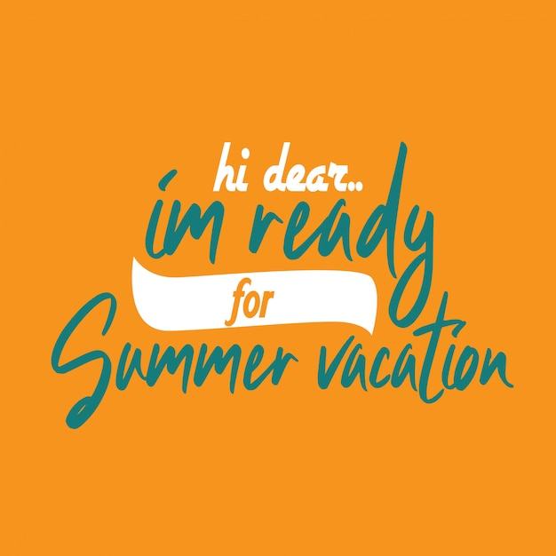 Lettering inspirational typography quotes summer vacation ...