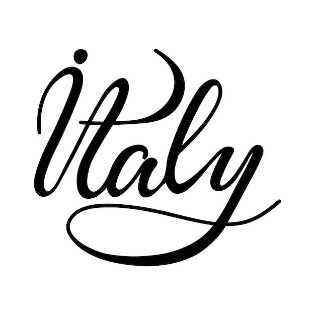 Рисунок италия надпись другие темы