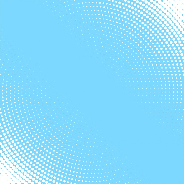 light blue background with white circular halftone pattern vector .