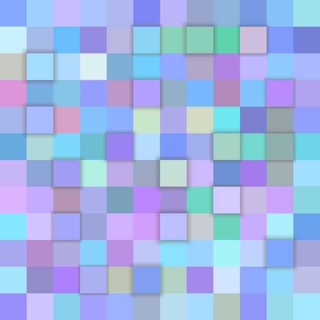 Голубой мозаичный фон Бесплатные векторы