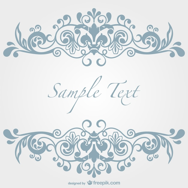 Light blue ornament vector free download light blue ornament free vector stopboris Choice Image
