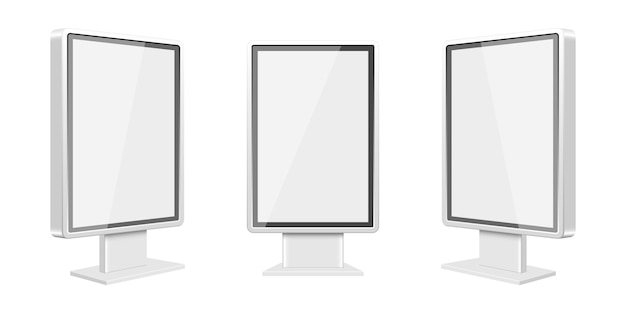 Light box template   illustration  on white background Premium Vector