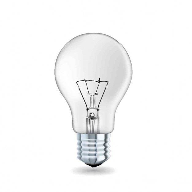 Free Light Bulb PowerPoint Shapes - Free PowerPoint Templates