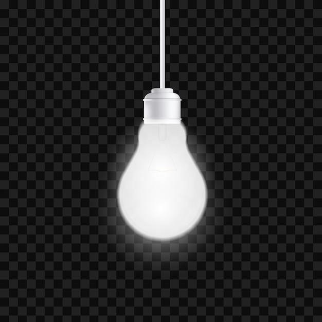 Light bulbs Premium Vector