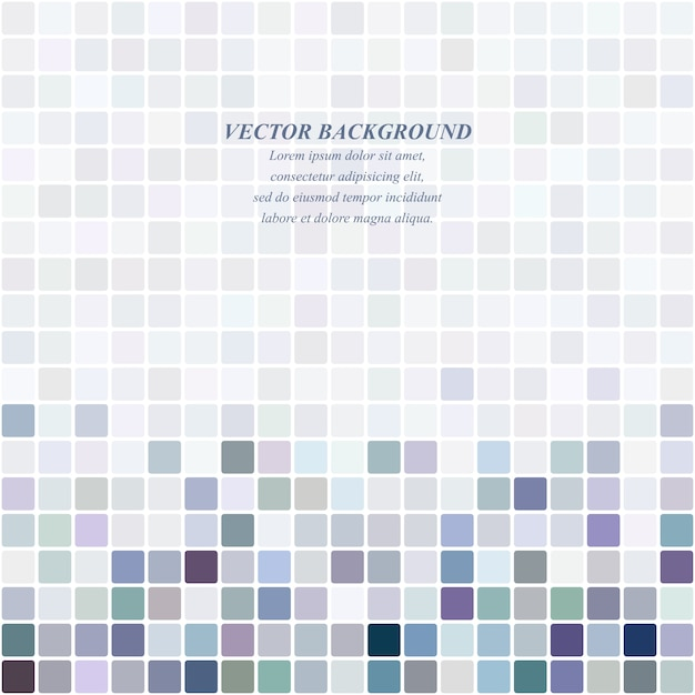 Light colors mosaic vector background