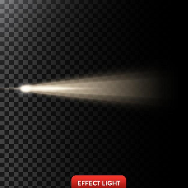 光の効果の背景 無料ベクター