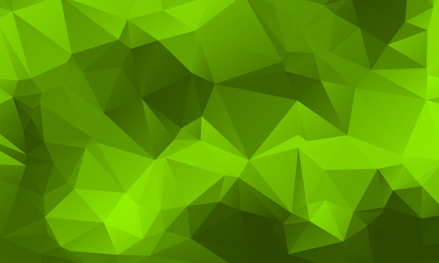Light Green Nature Color Polygon Background Design Abstract