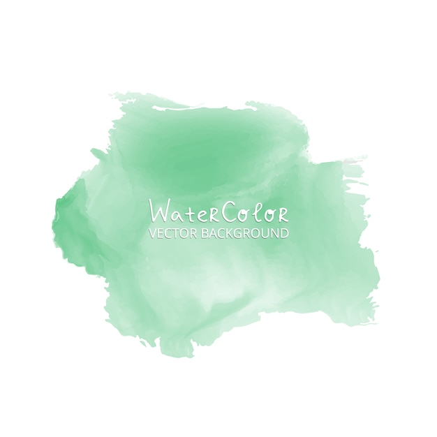 Light green watercolor background Free Vector