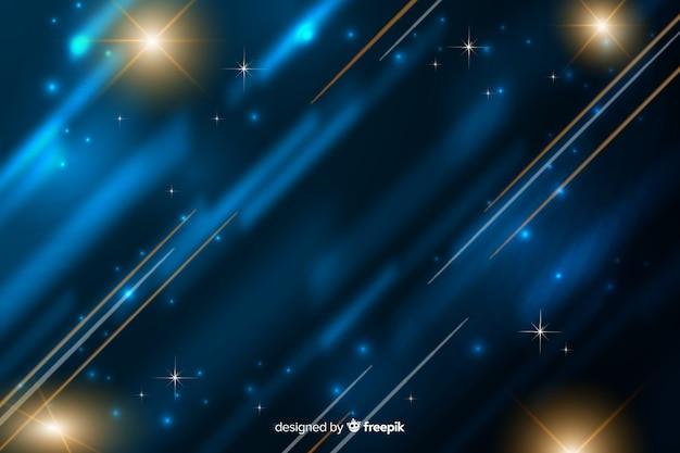 Light movement background flat design Free Vector