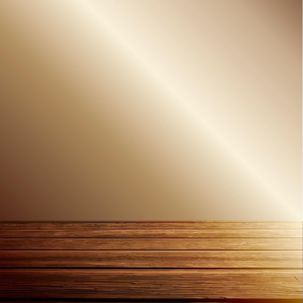 Light Wood Floor Background. Light on wooden floor background Free Vector  Download