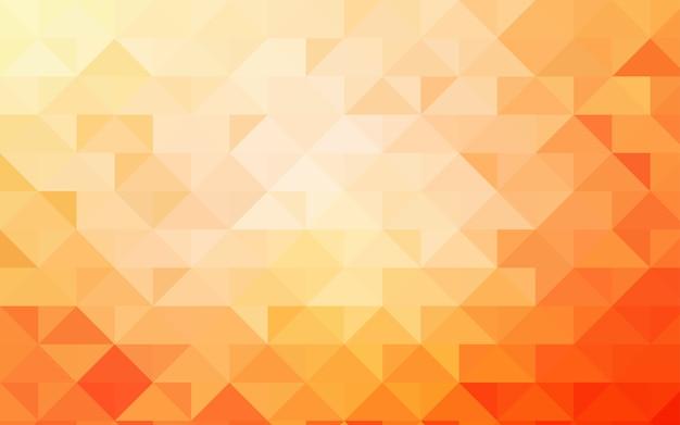Light Orange Vector Abstract Polygonal Background Vector