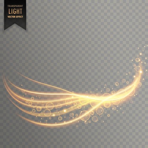 Light streak with shimmer effect Free Vector