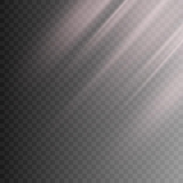 Light transparent effect Premium Vector