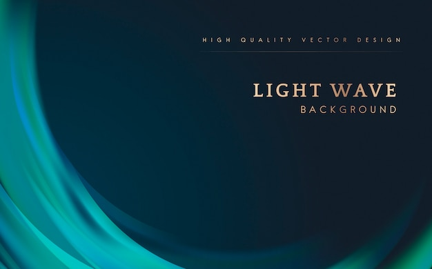 Light wave border background Vector | Free Download