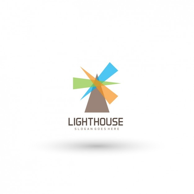 Lighthouse Logo Template Vector | Free Download