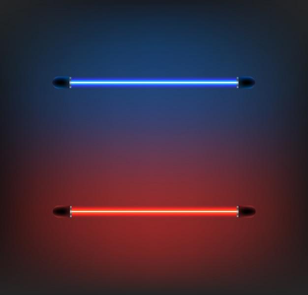 Lighting neon vector Premium Vector