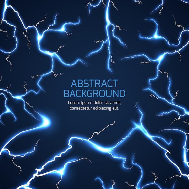 Lightning vector background Premium Vector
