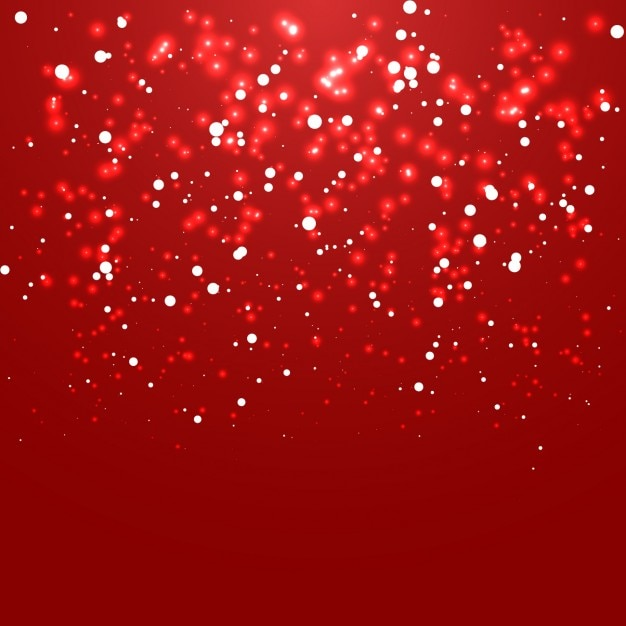 Red Christmas Background.Lights On A Red Christmas Background Vector Free Download