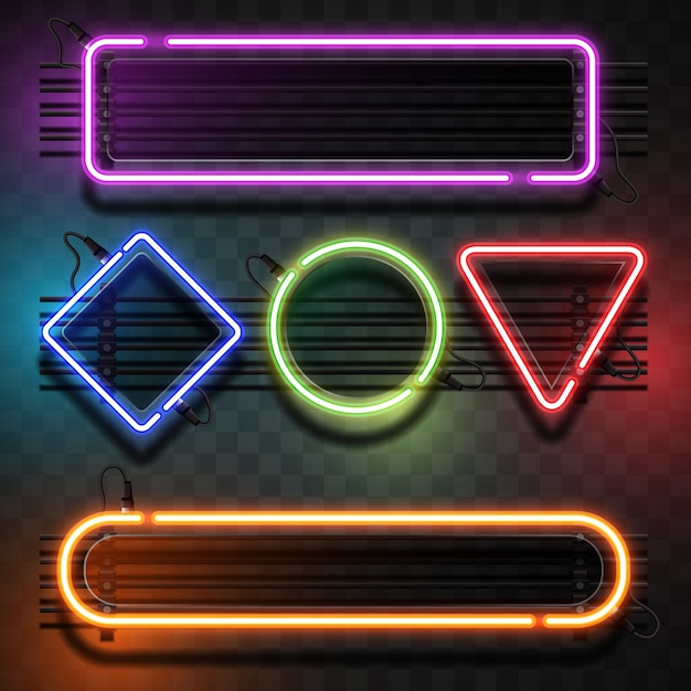 Neon Light Vectors Photos And Psd Files Free Download